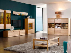 П-образная мебельная стенка