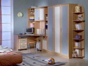 детская мебель с фасадами из пластика