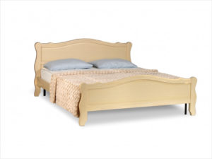 кровати с резными спинками