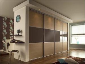 двусторонний шкаф-гардероб