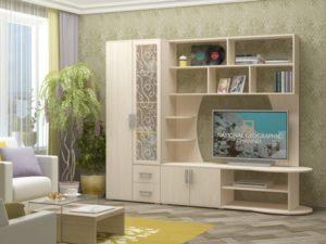 Мебельные стенки с пескоструем