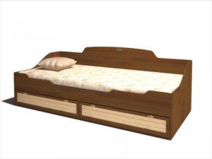 кровати с ящиками для белья