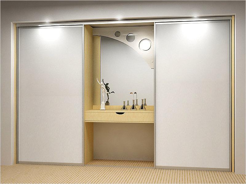 Шкафы-купе различных конфигураций