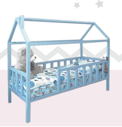 Кровать-детская-Домик-односпальный-№2
