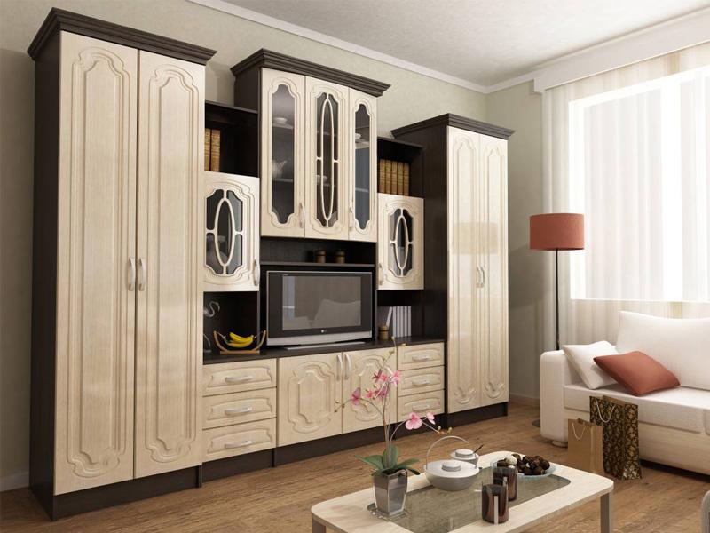 прямолинейная мебель для гостиной
