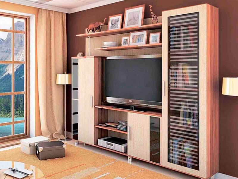 недорогие мебельные стенки-горки