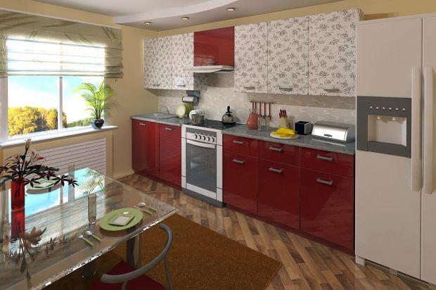 кухни с высокоглянцевыми фасадами