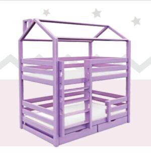 кровать-2-х-ярусная-домик